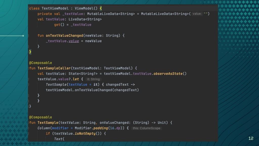 Kotlin stateflow 12 class TextViewModel : ViewM...