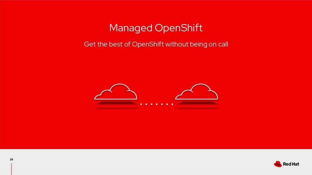 Managed OpenShift Get the best of OpenShift wit...
