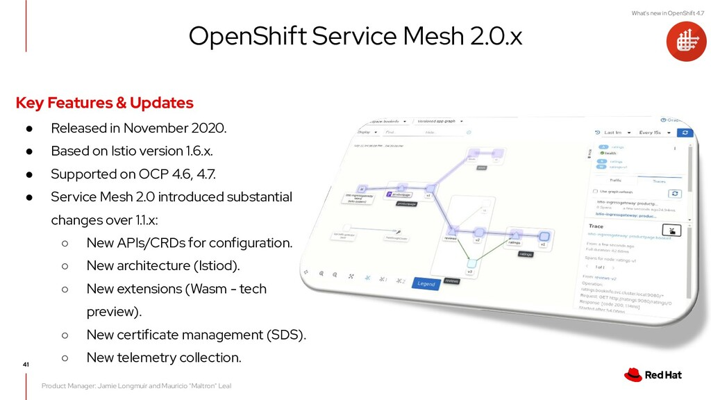 What's new in OpenShift 4.7 Product Manager: Ja...