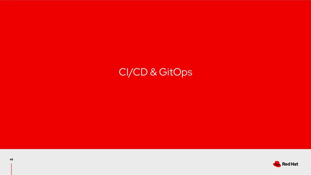 CI/CD & GitOps