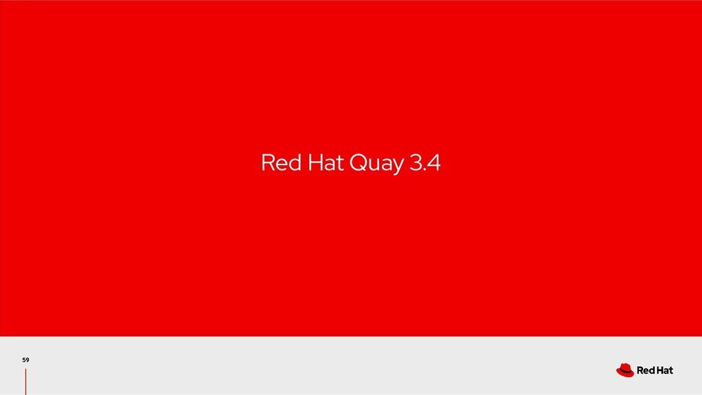 Red Hat Quay 3.4