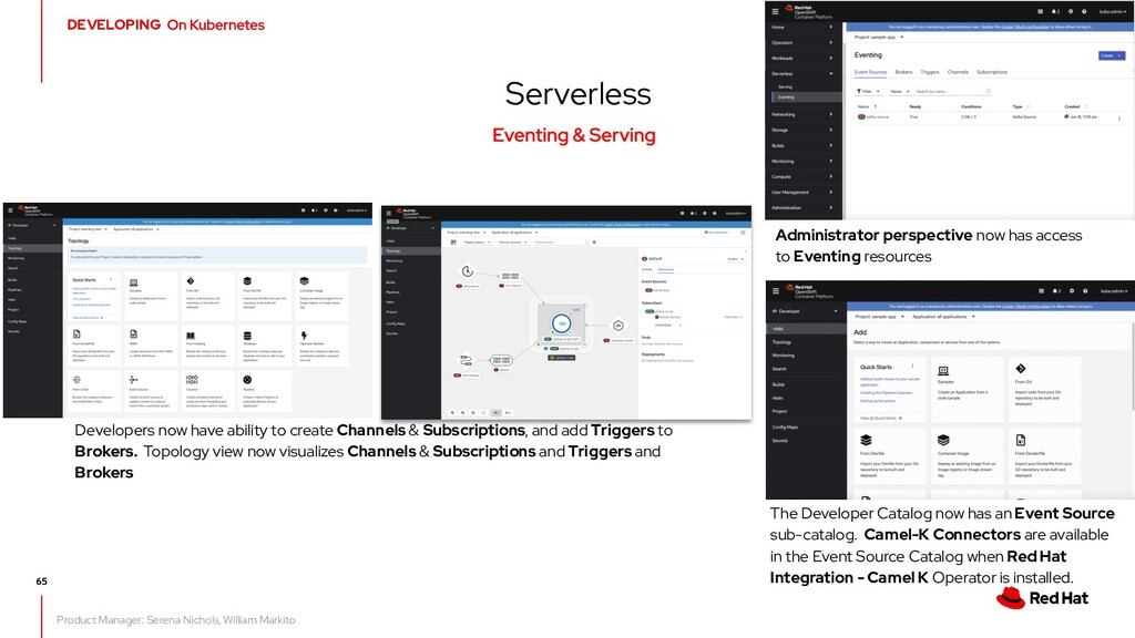 What's new in OpenShift 4.7 Serverless Product ...