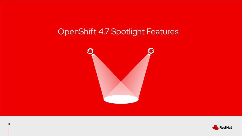 OpenShift 4.7 Spotlight Features