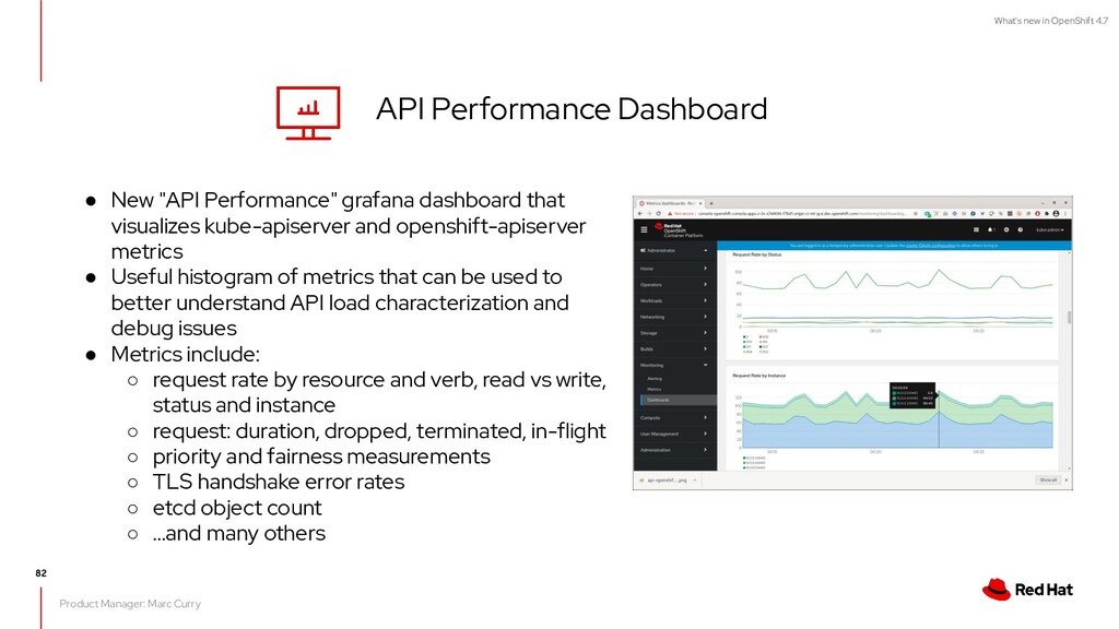 What's new in OpenShift 4.7 API Performance Das...