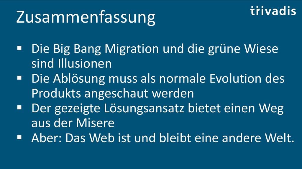 Zusammenfassung ▪ Die Big Bang Migration und di...