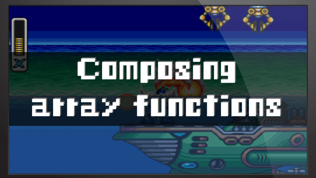 Composing array functions
