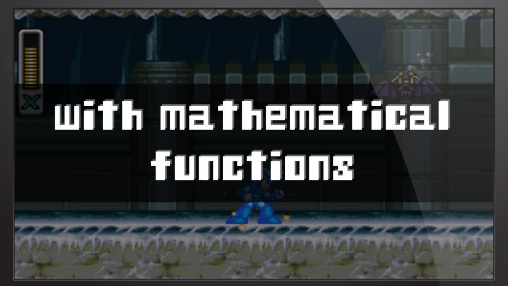with mathematical functions