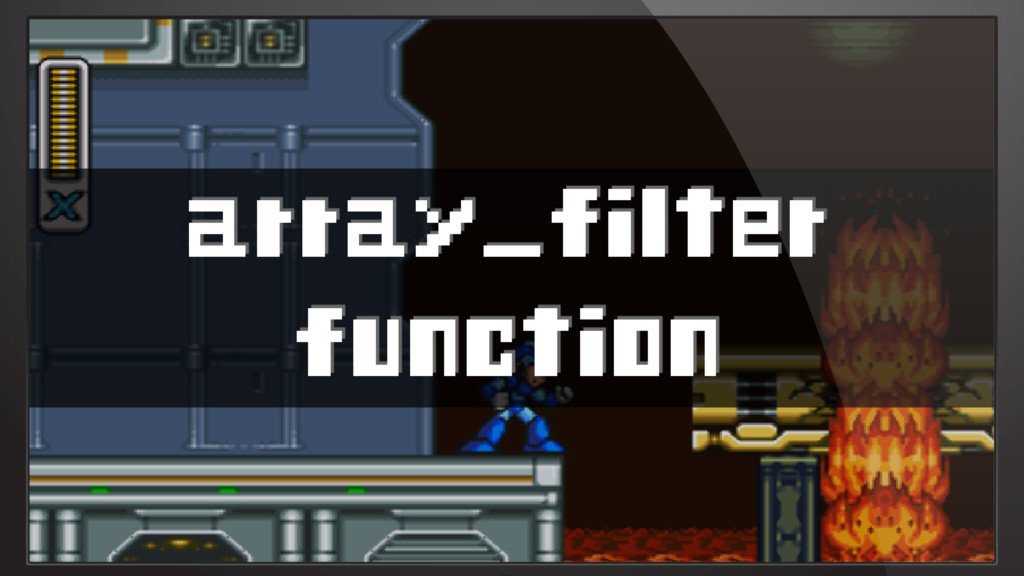 array_filter function