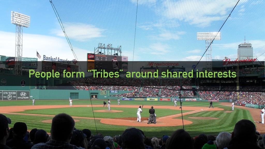 "@clairegiordano People form ""Tribes"" around sha..."