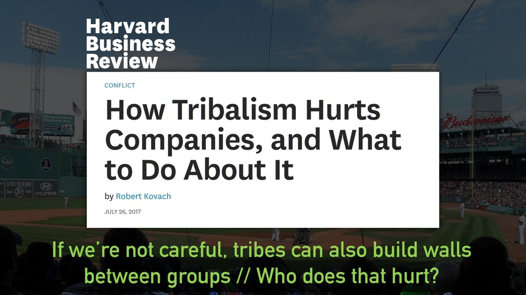 @clairegiordano If we're not careful, tribes ca...