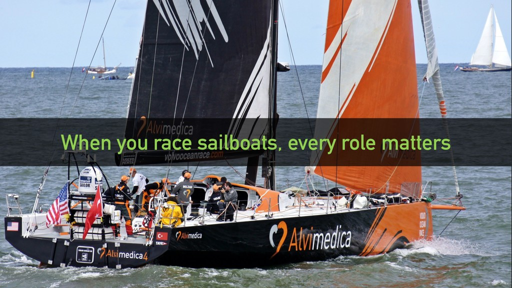 @clairegiordano When you race sailboats, every ...