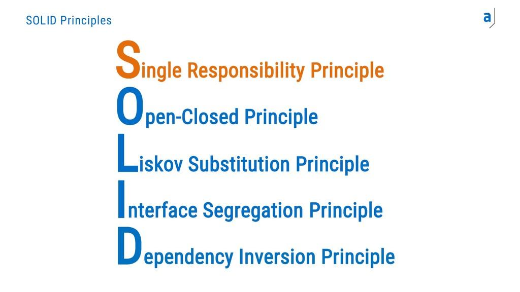 Single Responsibility Principle Dependency Inve...