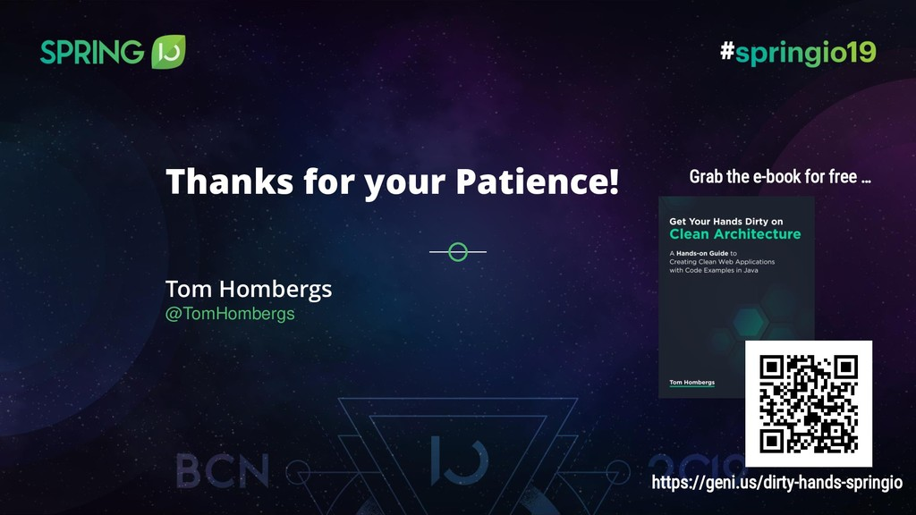 Tom Hombergs @TomHombergs Thanks for your Patie...