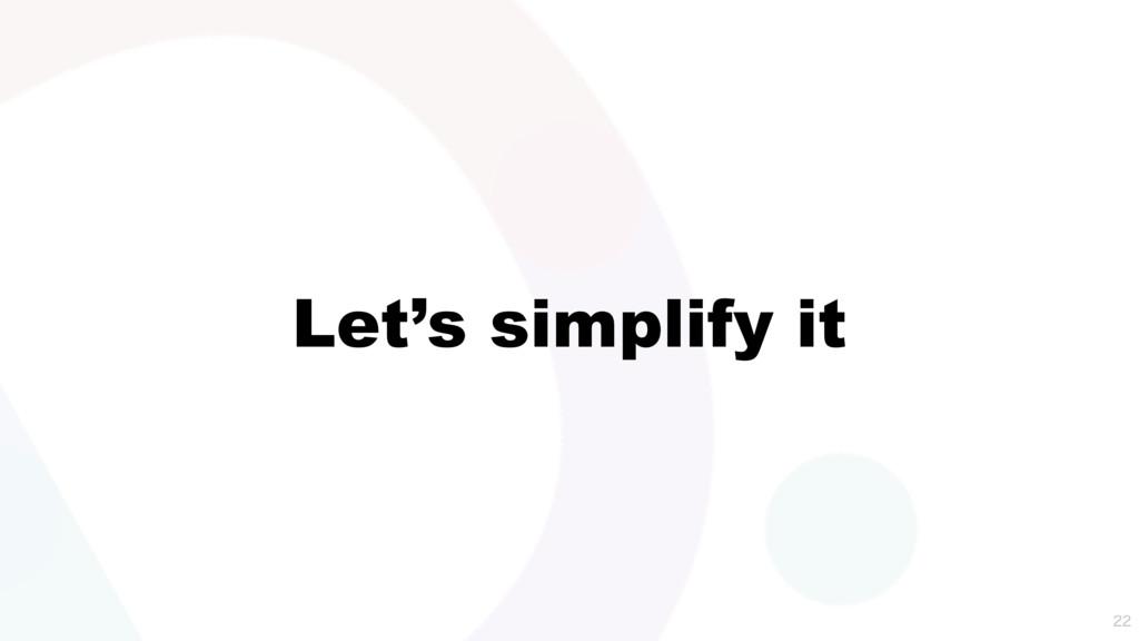 Let's simplify it