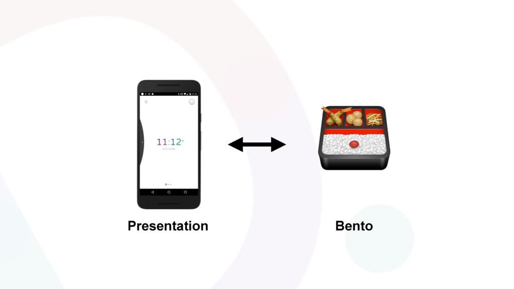 Presentation Bento