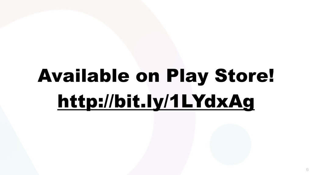 Available on Play Store! http://bit.ly/1LYdxAg