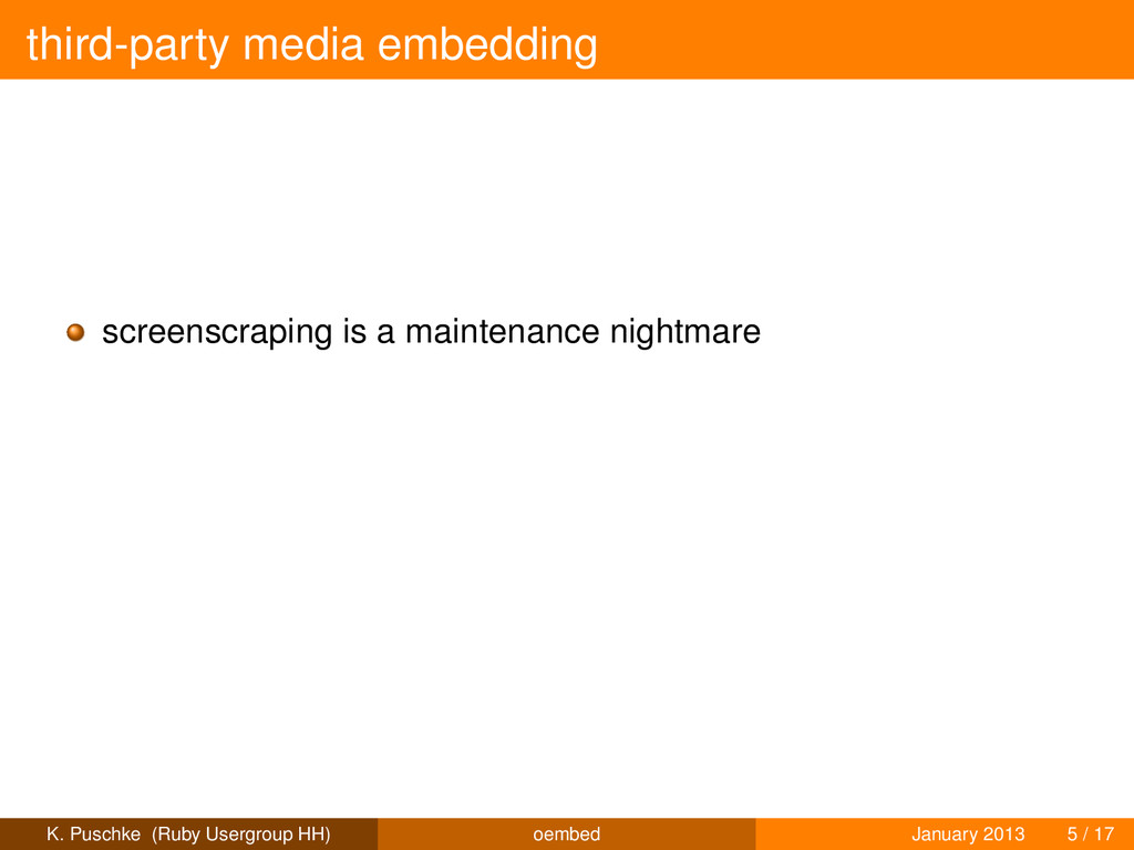 third-party media embedding screenscraping is a...