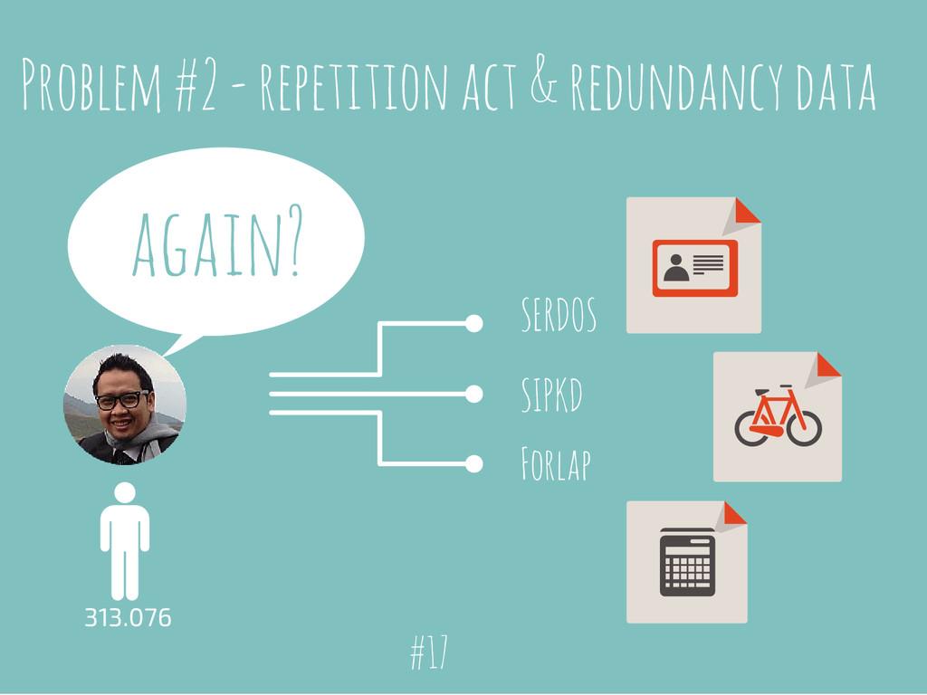 Problem #2 - repetition act & redundancy data 3...