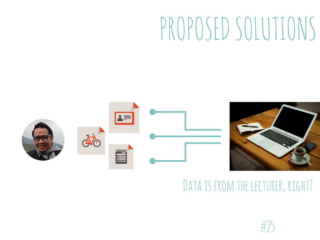 PROPOSED SOLUTIONS #25 Data is from the lecture...