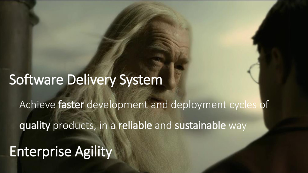 Software Delivery System Achieve faster develop...