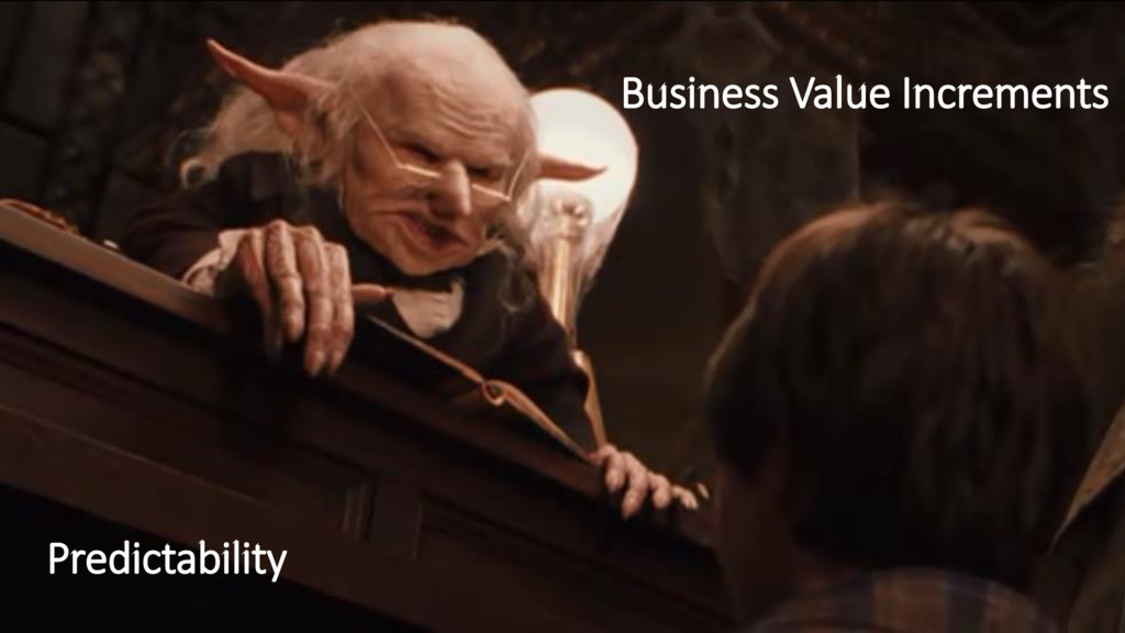 Business Value Increments Predictability