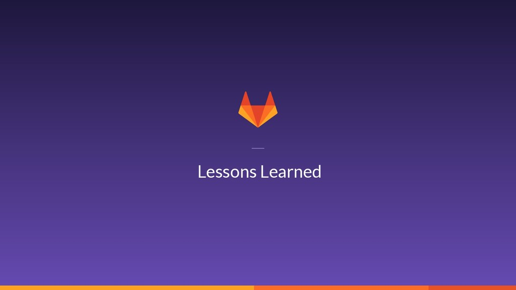 20 Lessons Learned