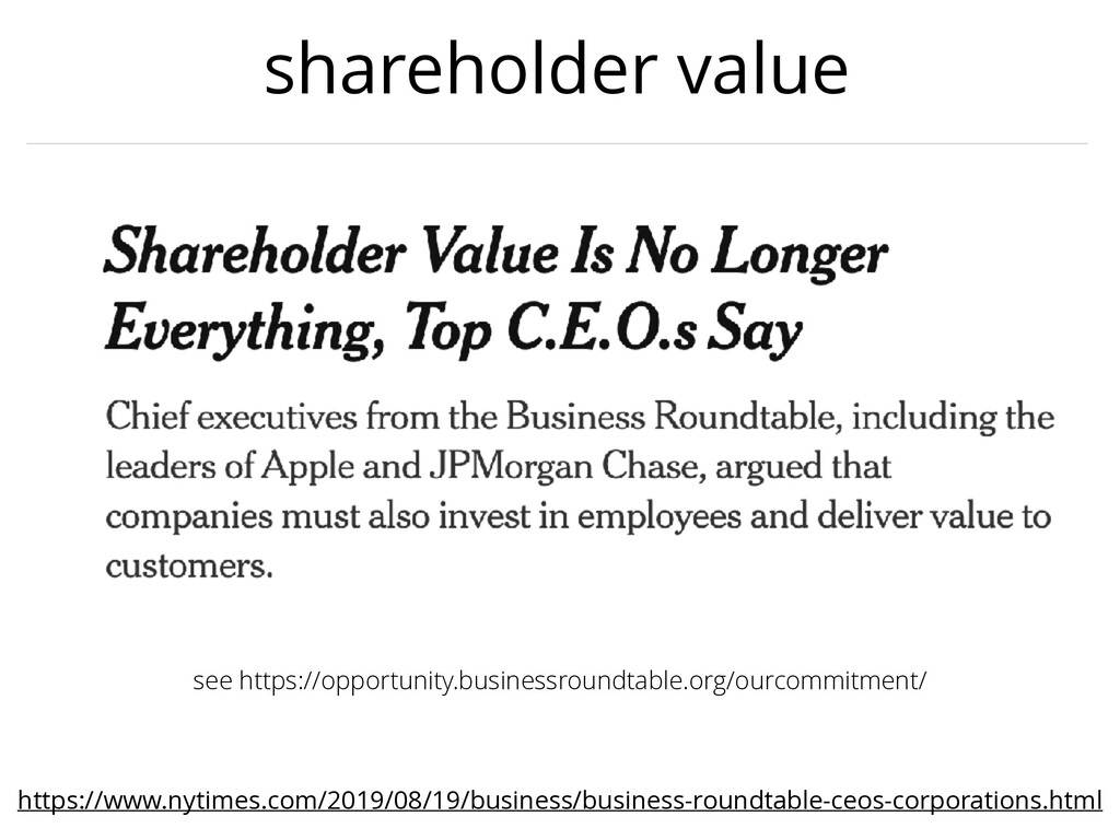 shareholder value https://www.nytimes.com/2019/...