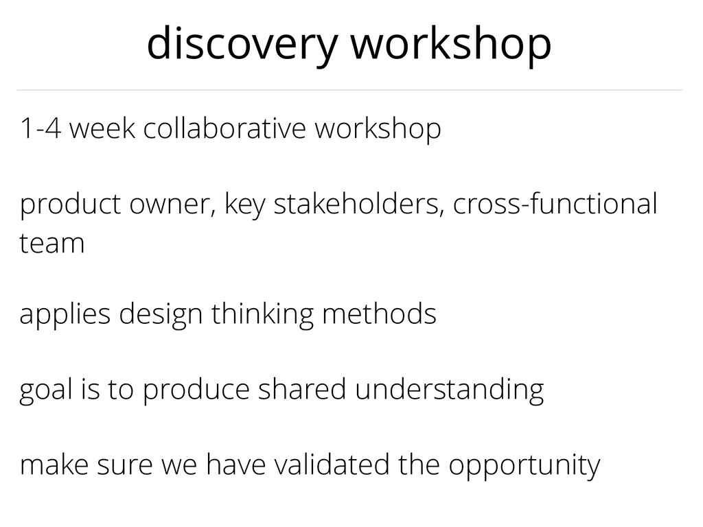 applies design thinking methods 1-4 week collab...