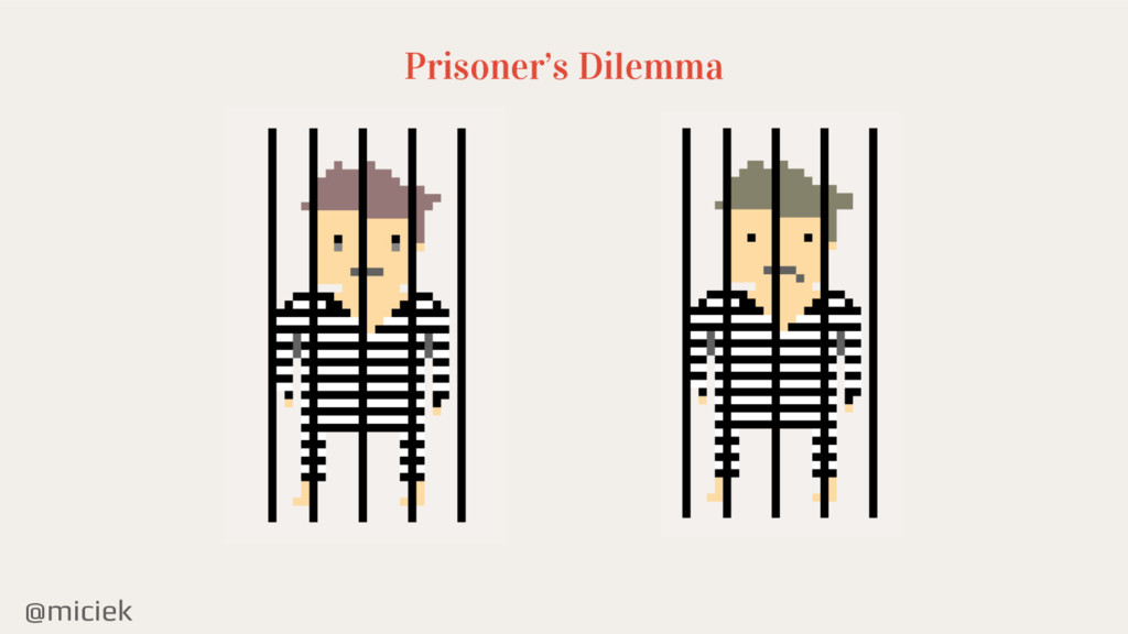 @miciek Prisoner's Dilemma