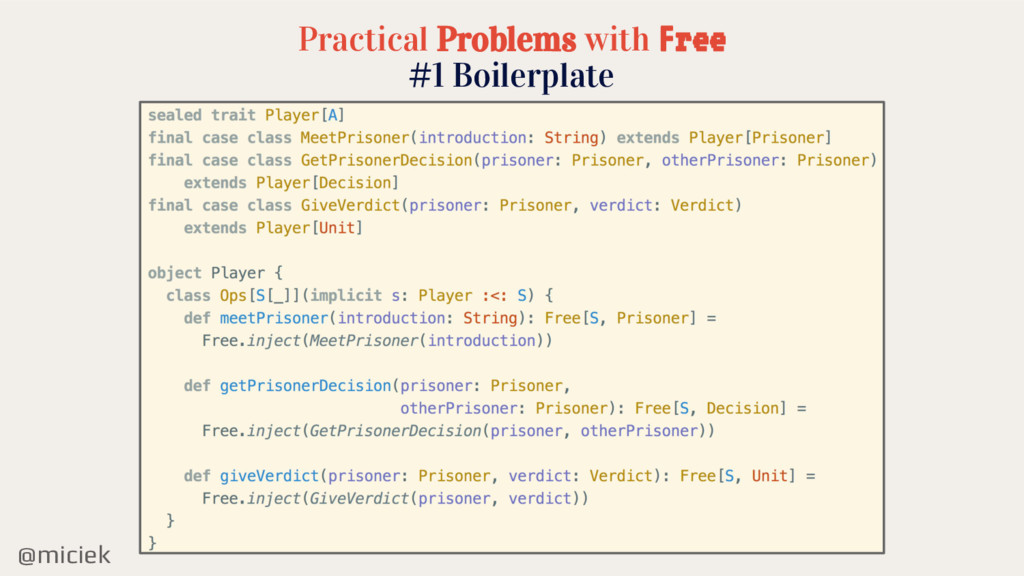 @miciek Practical Problems with Free #1 Boilerp...