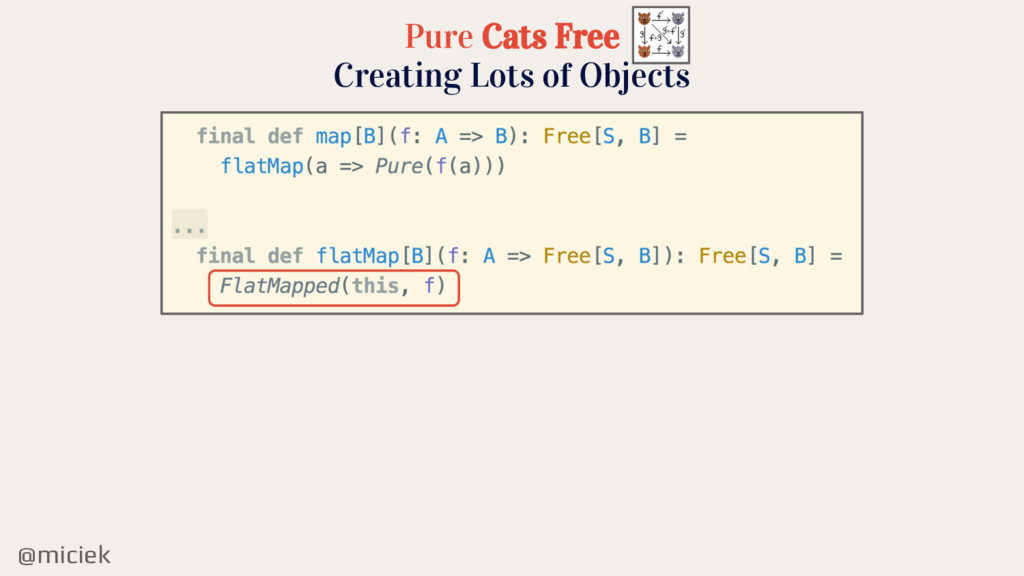 @miciek Pure Cats Free Creating Lots of Objects