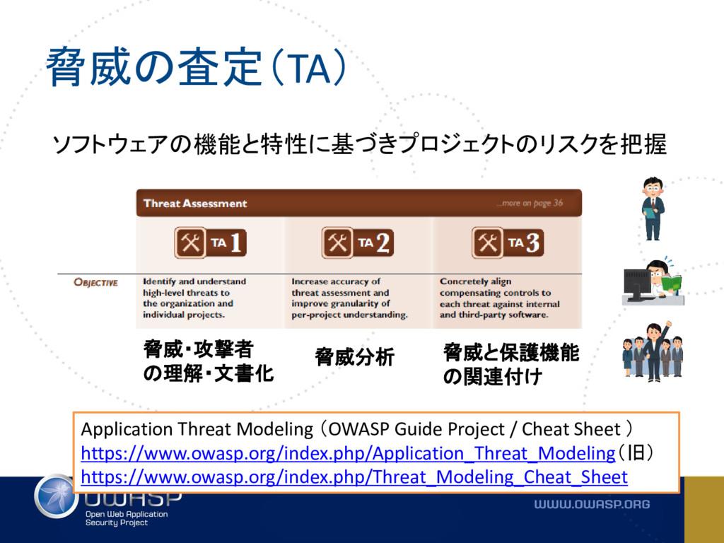 脅威の査定(TA) Application Threat Modeling (OWASP Gu...
