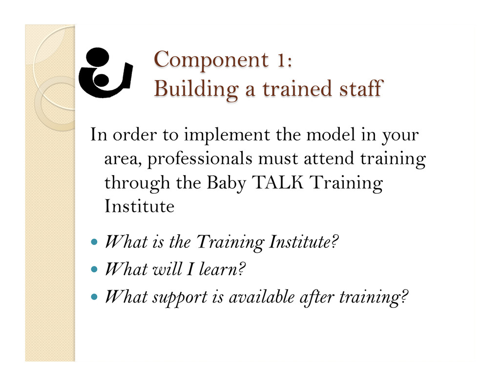 In order to implement the model in your area, p...