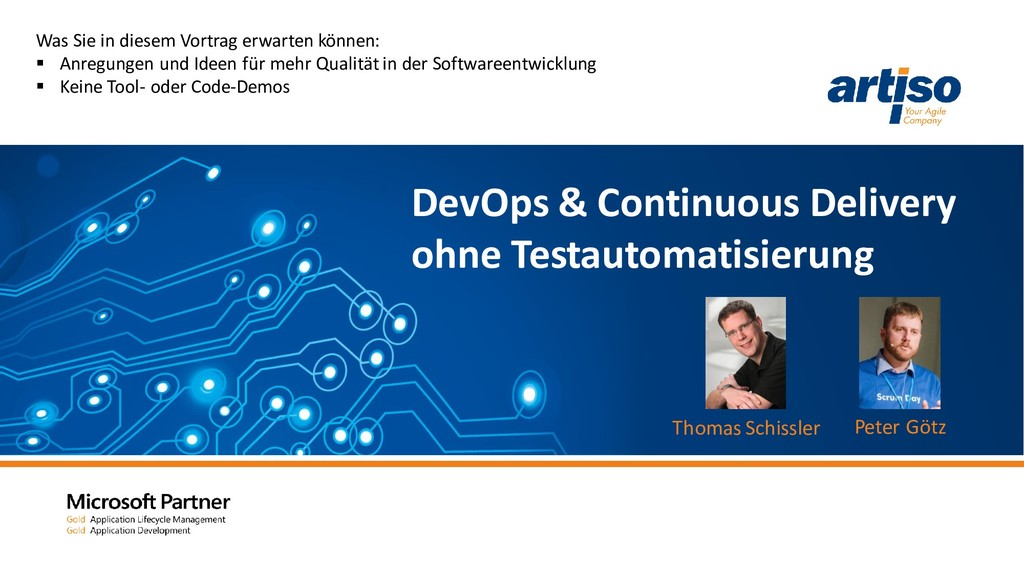 DevOps & Continuous Delivery ohne Testautomatis...