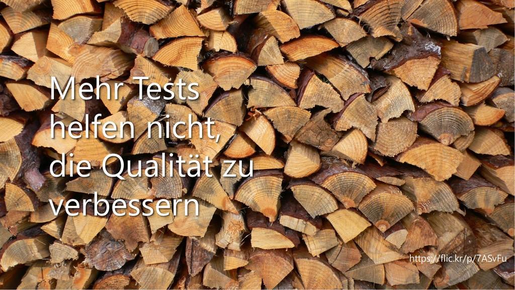https://flic.kr/p/7ASvFu Mehr Tests helfen nich...
