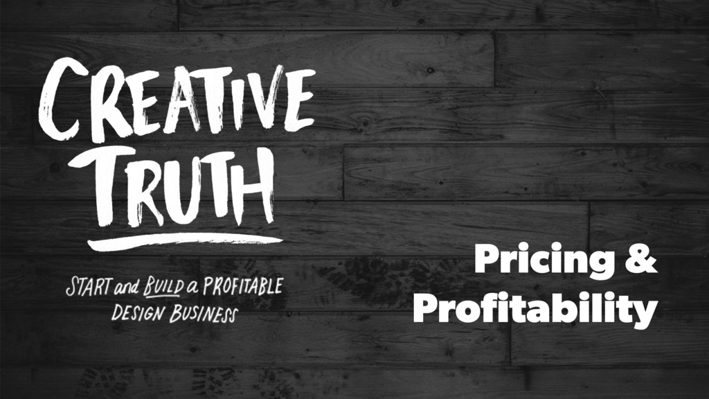 Pricing & Profitability