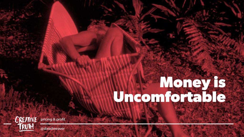 Money is Uncomfortable pricing & profit @sbradwe...