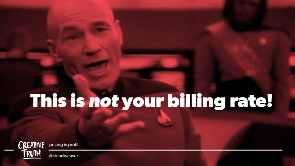 This is not your billing rate! pricing & profit ...