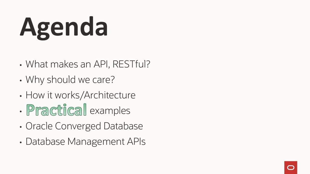 • What makes an API, RESTful? • Why should we c...