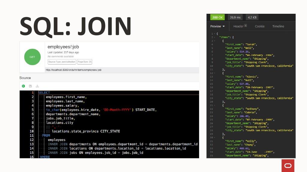 SQL: JOIN
