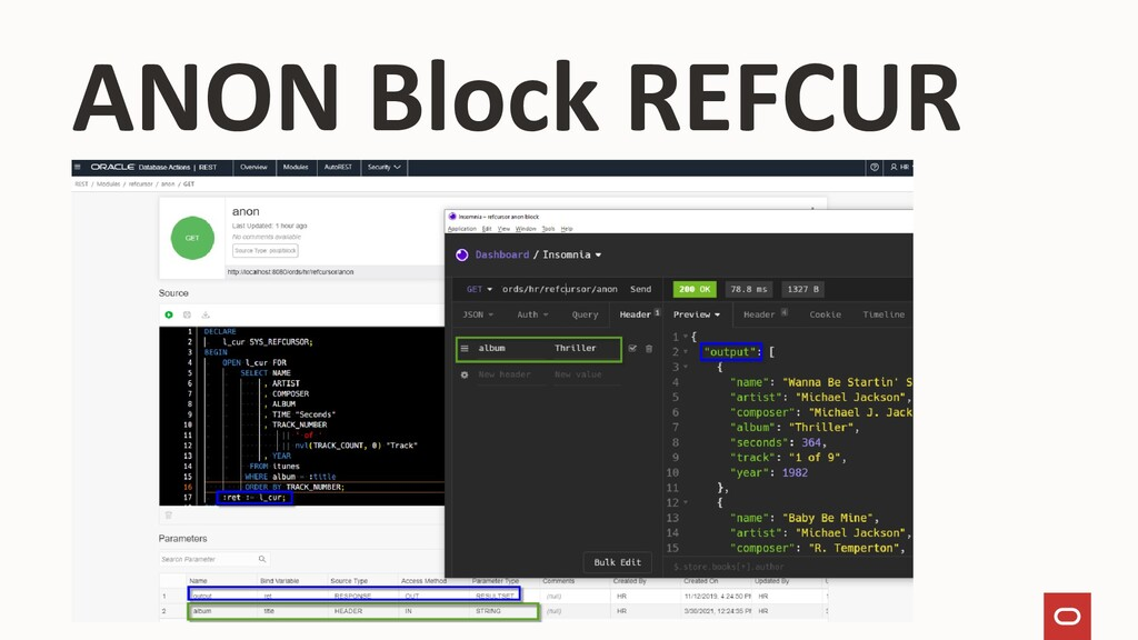 ANON Block REFCUR