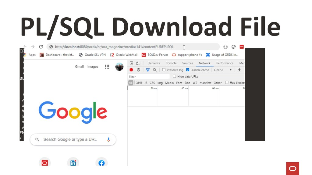PL/SQL Download File CREATE OR REPLACE PROCEDUR...