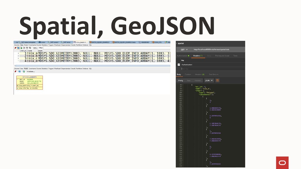 Spatial, GeoJSON