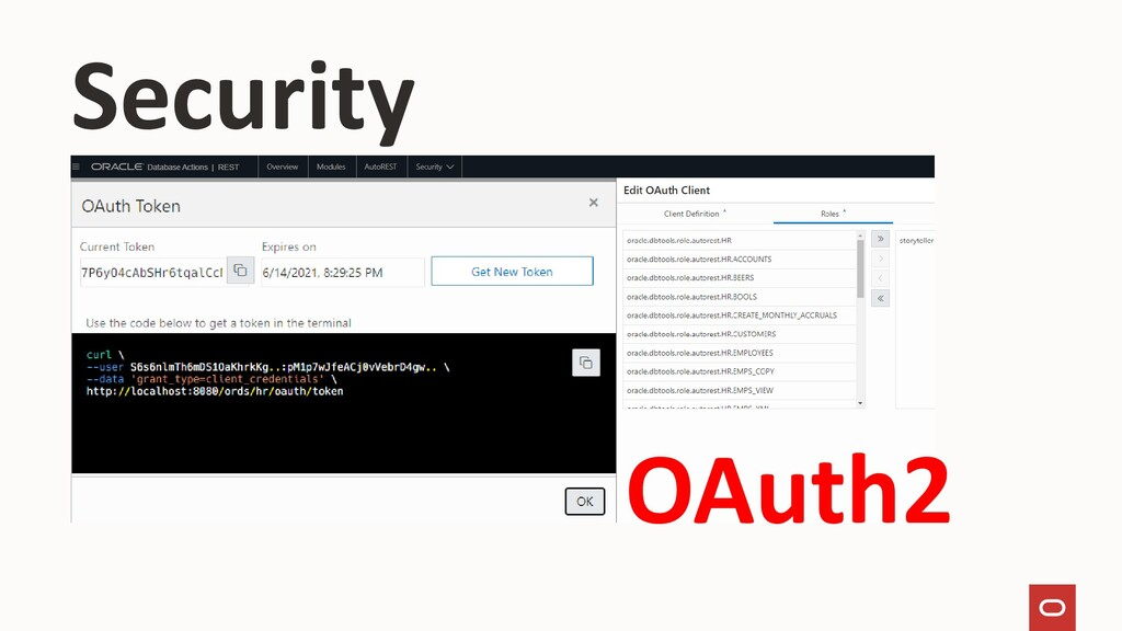 Security OAuth2