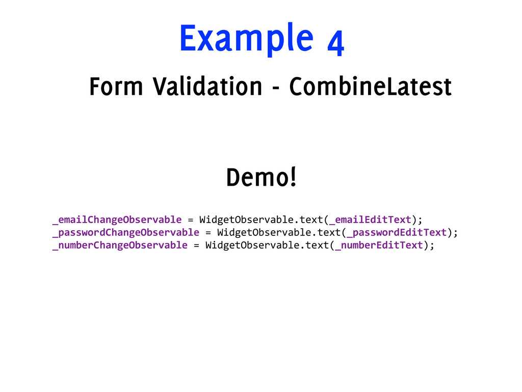 Example 4 Form Validation - CombineLatest _emai...