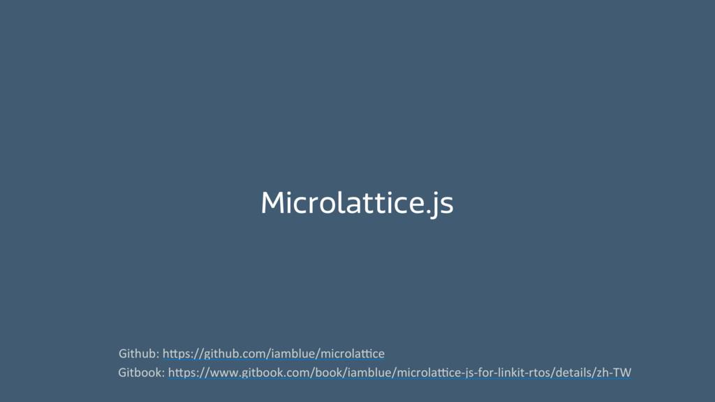 Microlattice.js Github: h_ps://github.com/ia...