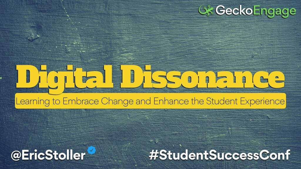 Digital Dissonance @EricStoller #StudentSuccess...