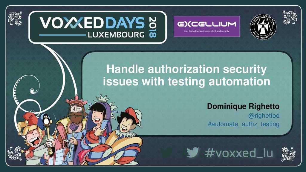 voxxeddays.com/luxembourg/ #voxxed_LU #automate...