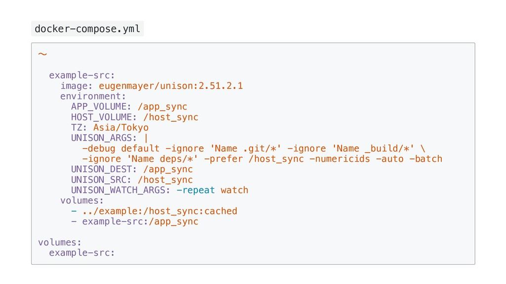 docker-compose.yml ~ example-src: image: eugenm...