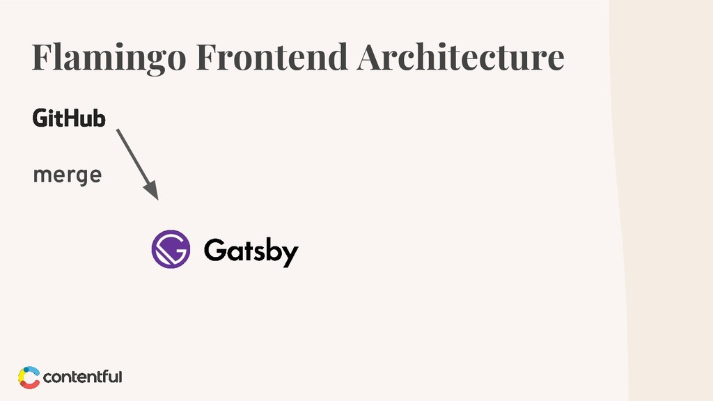 Flamingo Frontend Architecture merge